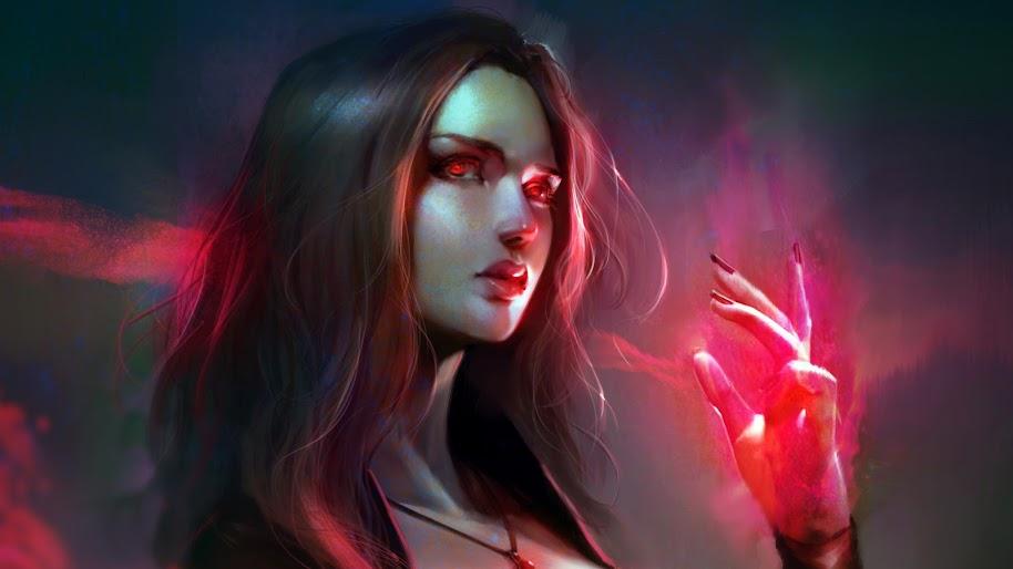 Scarlet Witch 4k Wallpaper 196