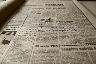 Imagem de um jornal