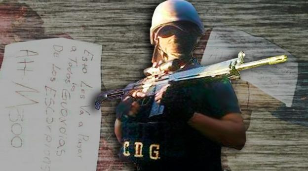 """""""Metros del CDG""""  vuelan cabeza a Guardia enemigo de Los Escorpiones, esto les va a pasar a todos Att: M300"""