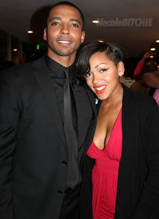 Picture of Christian Keyes with Meagan Good