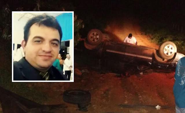 Após sofrer capotamento, homem é esmagado pela própria camionete e morre em Ji-Paraná