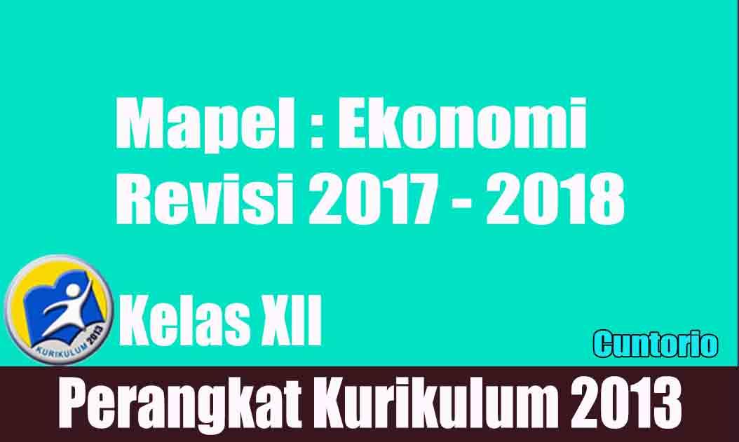 RPP K13 Ekonomi Kelas 12