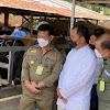 Walikota Makassar Dampingi Mentan RI SYL, Cek Ketersediaan Hewan Qurban Sapi