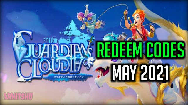 guardians of cloudia redeem codes may 2021