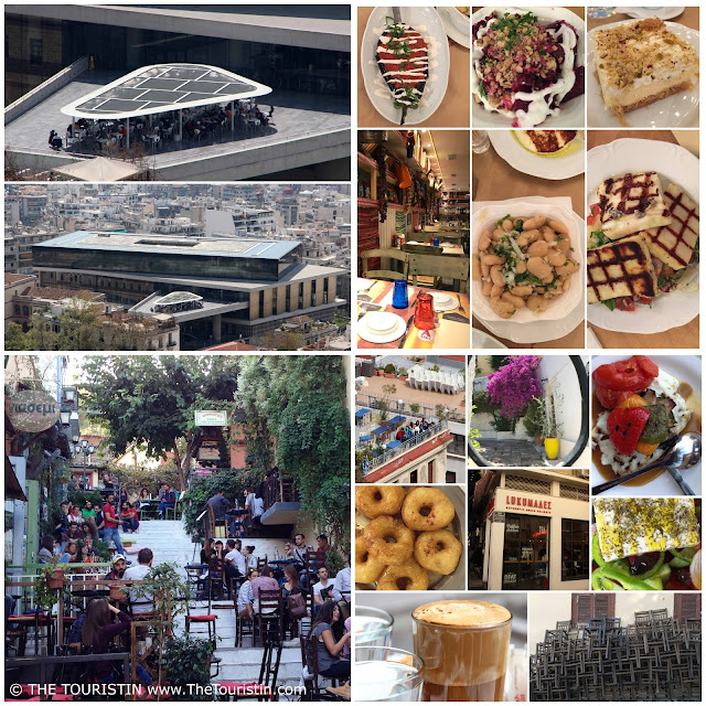 Dining in Athens. overview. the touristin. Greece. Food