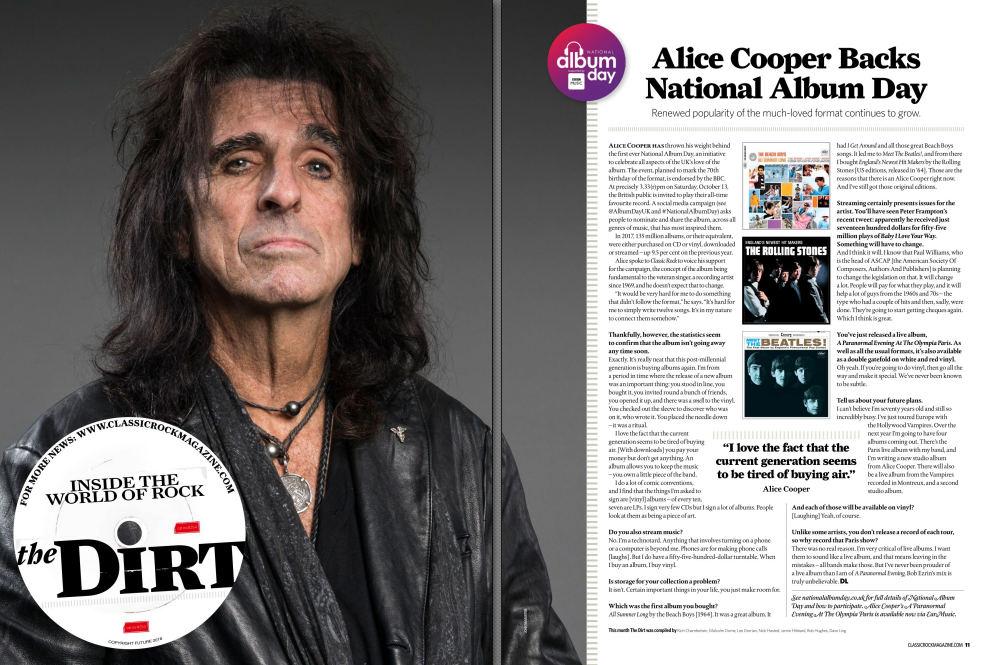 CLASSIC ROCK Magazine issue November - October (2018) inside 2