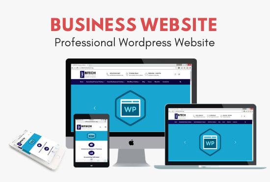 Wordpress website design - WordPress - Full Website Creation