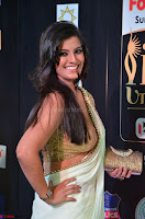 Varalakshmi in Cream Saree Sleeveless Backless Deep Neck Choli at IIFA Utsavam Awards March 2017 005.JPG