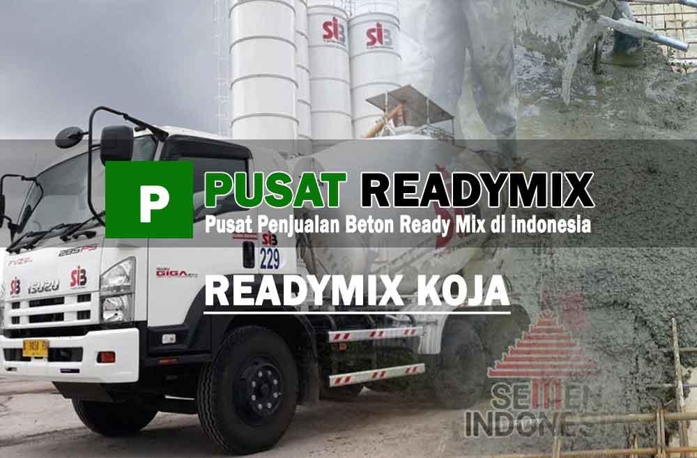 harga beton ready mix Koja