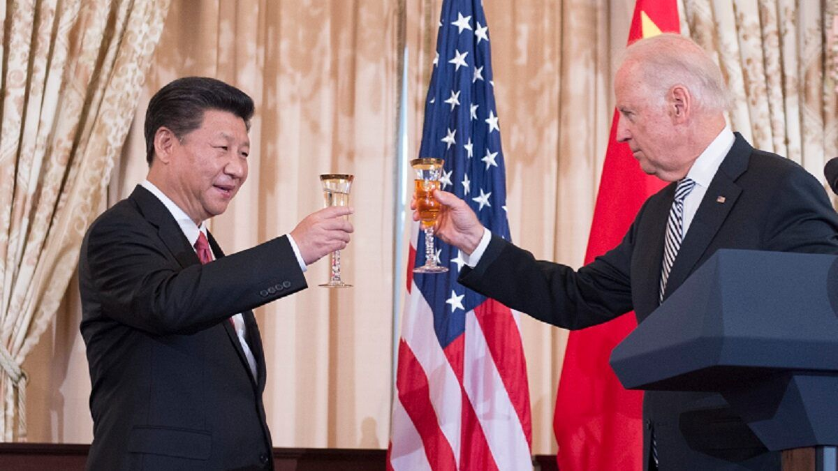 Sino-American relationship - Biden said - I've talked to Jinping for two consecutive hours, China wants to withdraw our rights.