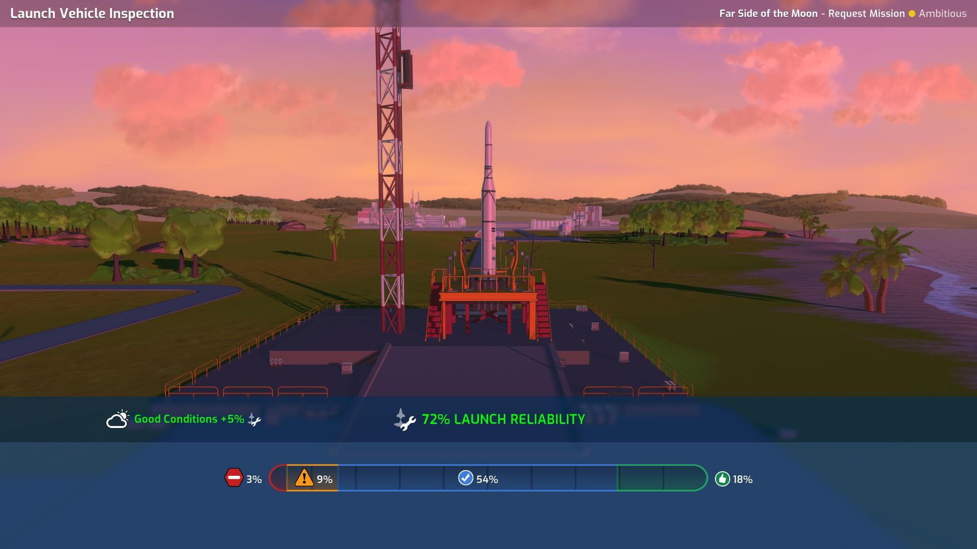 MArs Horizon Launch