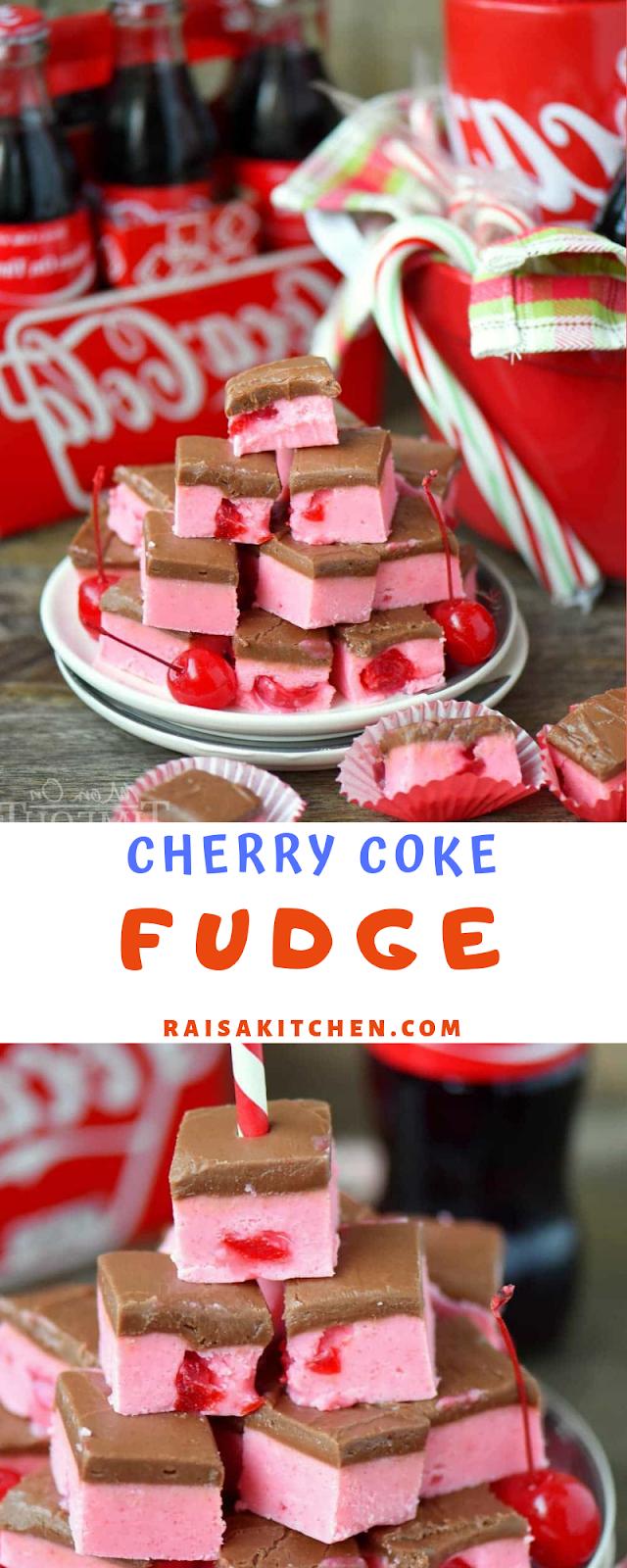 CHERRY COKE FUDGE