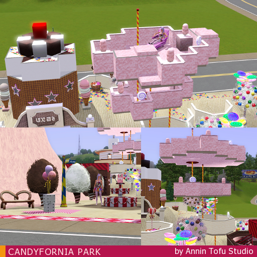 Sims Tofu Studio: CANDYFORNIA PARK