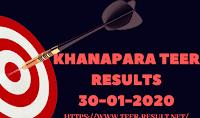 Khanapara Teer Results Today-30-01-2020