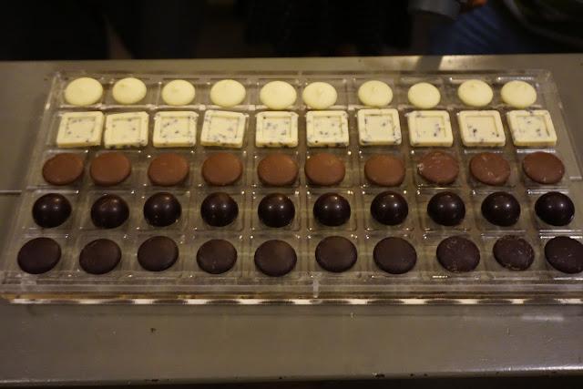 פרלינים שוקולד דה קרינה