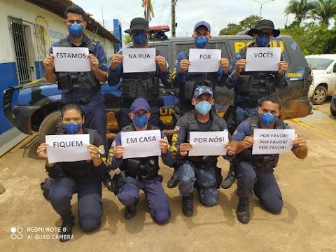 Guardas Municipais de Lago da Pedra recebem homenagem por serviços prestados no combate ao coronavírus