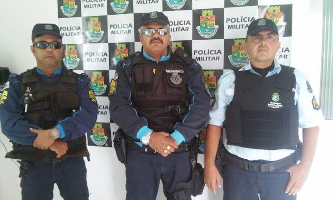 GROAÍRAS-CE: POLICIA MILITAR  PRENDEM DUPLA ACUSADA DE ASSALTO