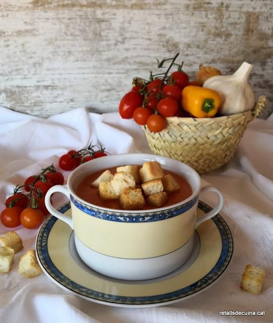 Gaspatxo Andalús, un plat amb propietats antitumorals