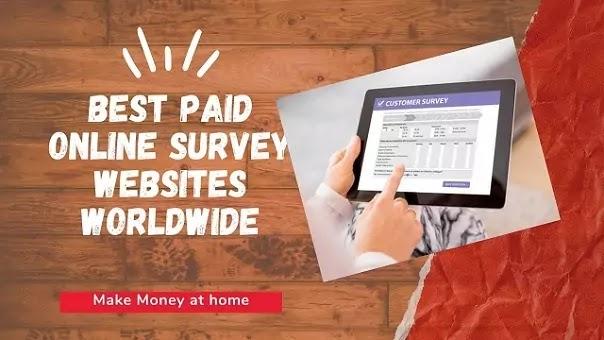 Earn-online-through-paid-survey-site
