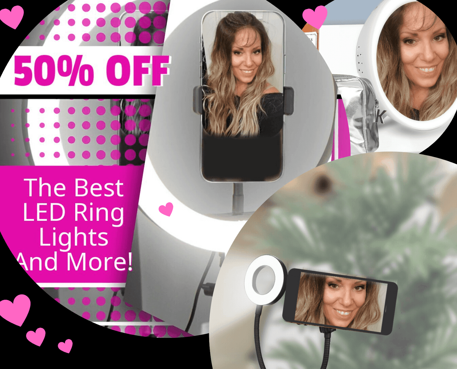 Best LED Ring Lights And More By Top Beauty Blogger Barbies Beauty Bits