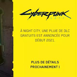 Cyberpunk 2077 lancera un DLC gratuit au début de l'année prochaine
