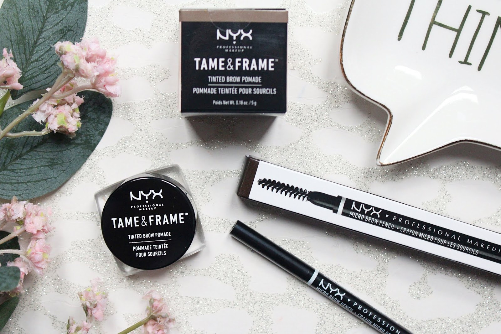 NYX Brow Pomade & Micro Pencil Review
