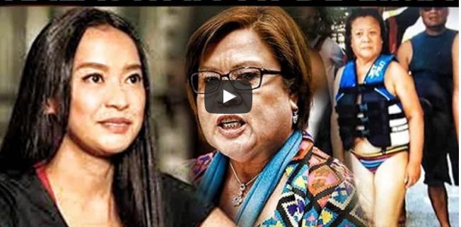 Mocha Uson Ibinunyag Ang Napaka Grabeng Kalaswaan Ni De Lima