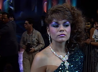 WCW Halloween Havoc 1989 -  Woman led Doom into battle against The Steiner Brothers