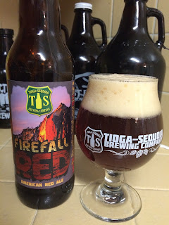 Tioga Sequoia Firefall American Red Ale 1