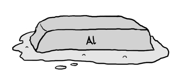 Sulava alumiiniharkko.