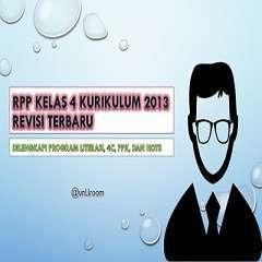 RPP K13 Kelas 4
