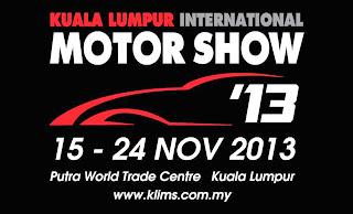Kuala Lumpur International Motor Show 2013 Update- KLIMS 13 SHOW ATTRACTIONS