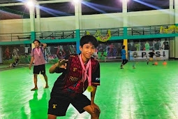 Masih SMP Ariel Sabet Top Skor Turnamen Futsal Bergengsi di Palopo