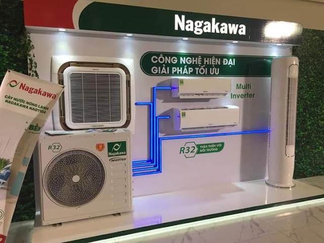 Máy lạnh âm trần thương hiệu Nagakawa 2HP (Việt Nam) thích hợp với mọi không gian bày trí