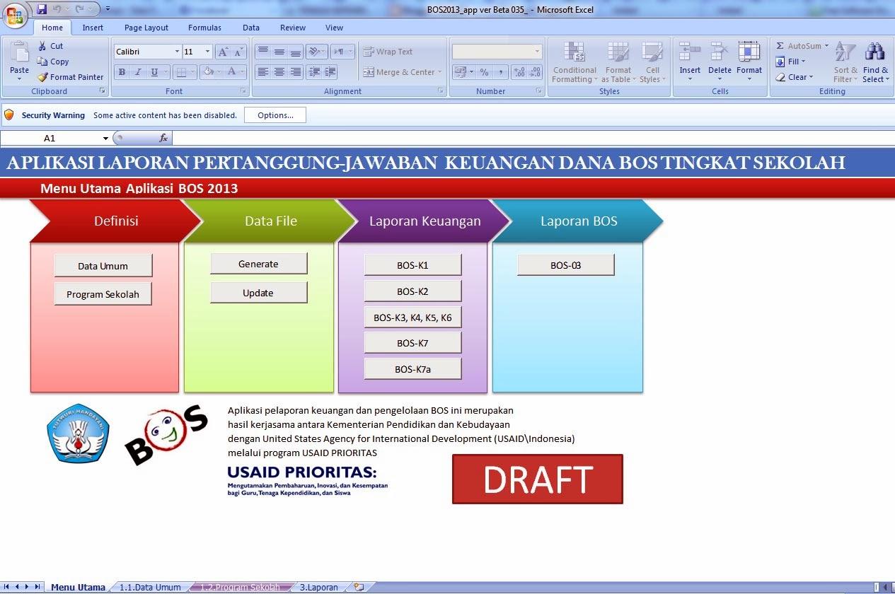 Aplikasi Sekolah Format Microsoft Excel Gratis Download ...