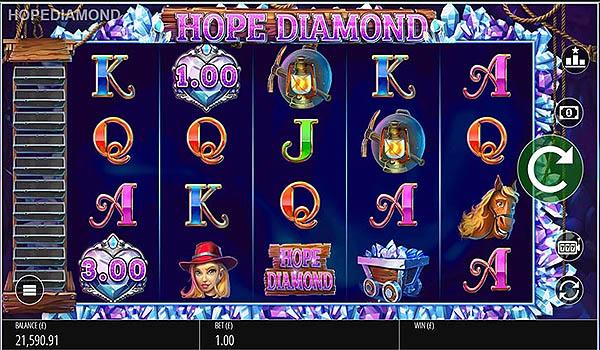 Main Slot Gratis Indonesia - Hope Diamond (Blueprint Gaming)