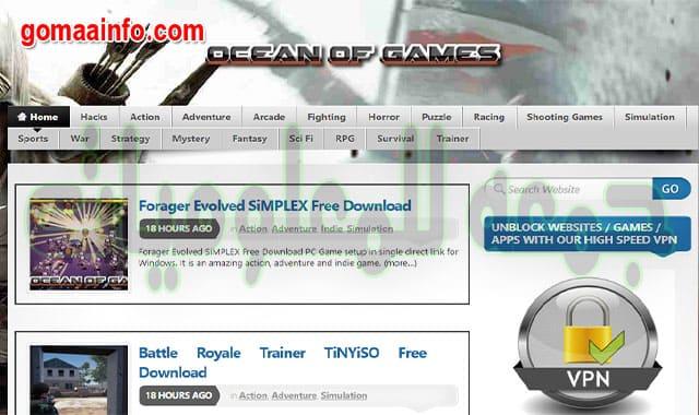 أفضل المواقع لتحميل ألعاب الكمبيوتر المدفوعة مجانا ٢٠٢٠
