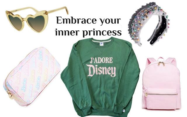 embrace your inner princess stoney clover barbie backpack heart sunglasses