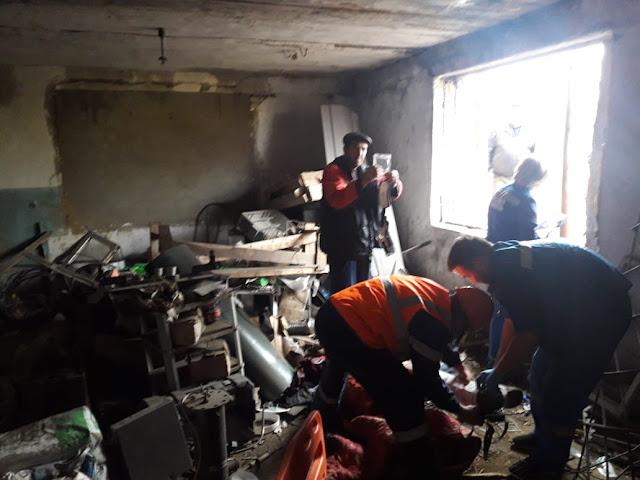 Под Уфой взорвался газ, есть пострадавший
