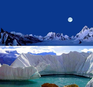 The Biafo Glacier- Pakistan Beautiful Places to visit