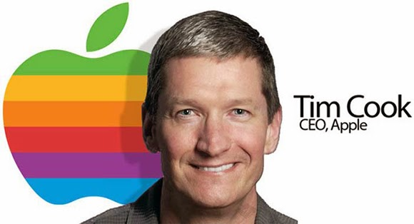 GAY ICON: Tim Cook
