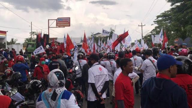Seruan Aksi, LMND Sulsel Akan Turun ke Jalan Kritisi Pemerintahan Jokowi Hari Ini