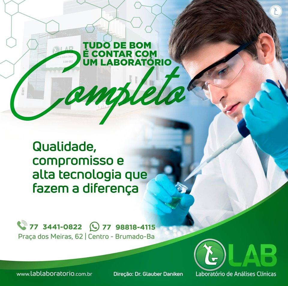 Controle de qualidade no laboratório de análises clínicas LAB