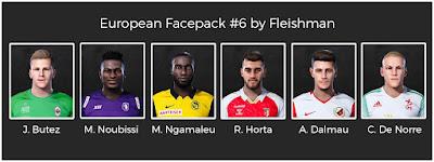 PES 2021 European Facepack #5 by Fleishman
