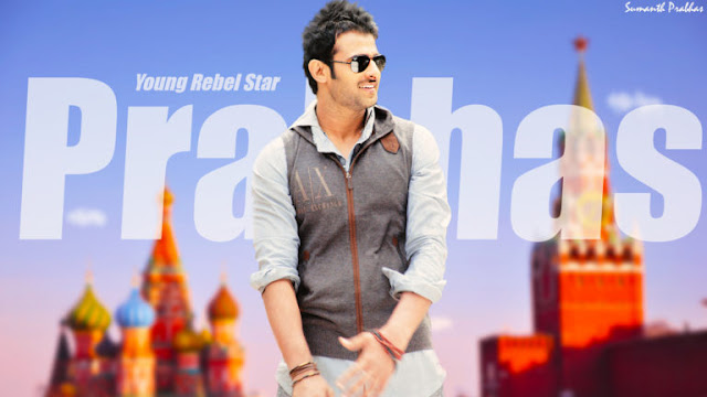 Young Rebel Star of South Films Prabhas Desktop Wallpapers