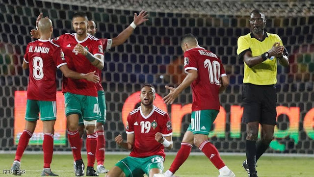 رغم خيبة أمل للمنتخب المغربي في الكان.يتقدم في ترتيب الفيفا