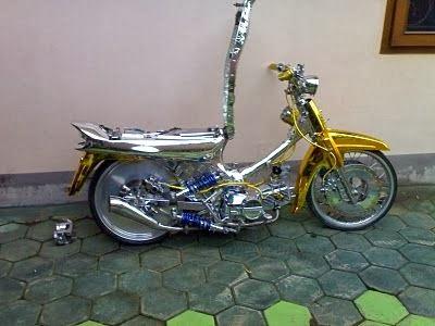 modifikasi motor legenda