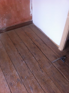 renovation project how to remove a rotten floorboard