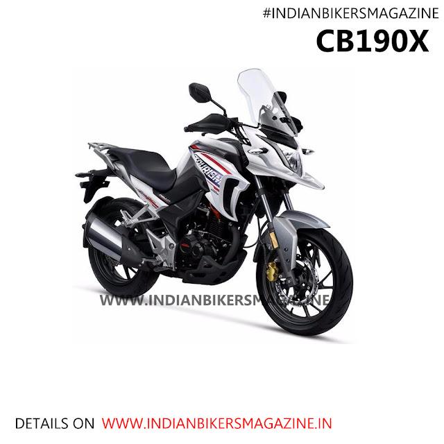 Honda CB190R & CBF190R, CB190X