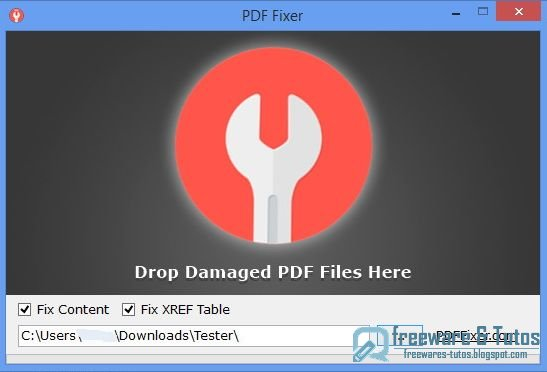 PDF Fixer : un logiciel pour réparer les fichiers PDF illisibles et abîmés